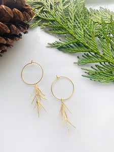 Pine Collection Golden Pine Hoops