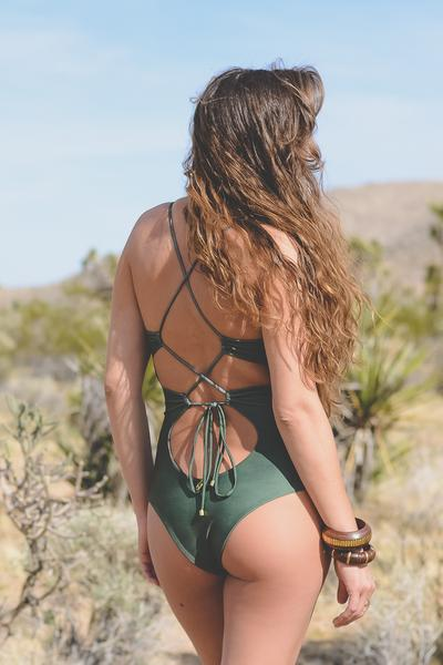 lace up swimsuit trend 2018