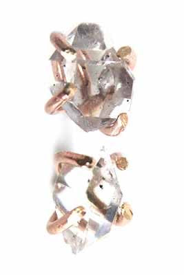 Herkimer Stud Earrings
