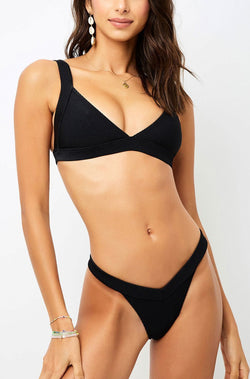 Frankies Bikinis Georgia Bottom Black