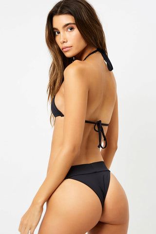 Frankies Bikinis Nick Bottom Black