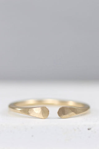 simple gold toe ring
