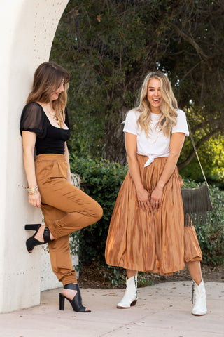 playful fall skirt