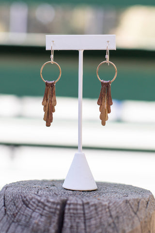 cute fringe earrings