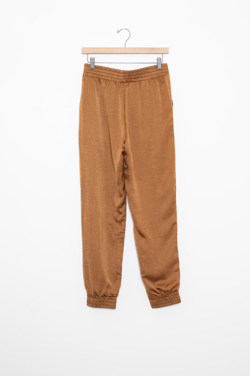 silky jogger pants for fall