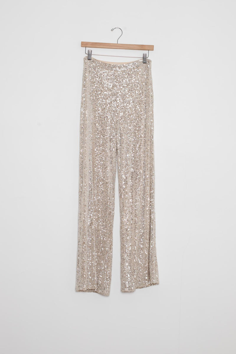 sequin disco pants