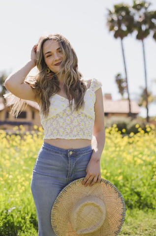 Daisy Crop Top