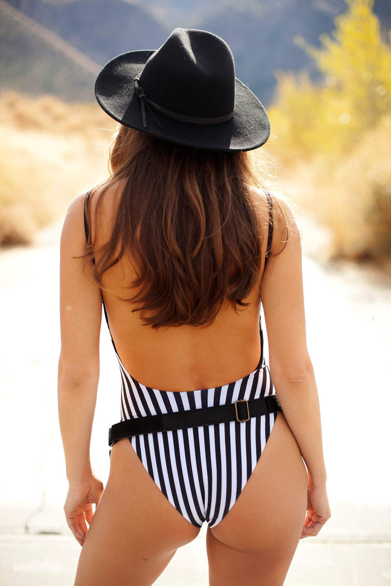 Solkissed California One Piece Stripe