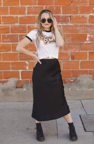 Fancy Pants Ringer Tee