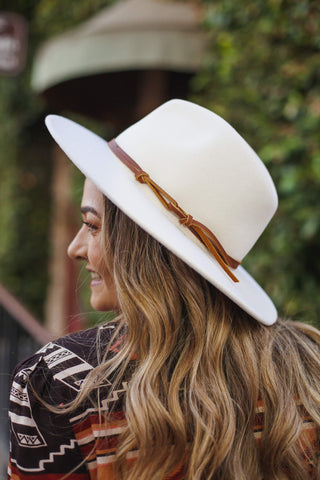 Wyeth Billie Hat in Cream