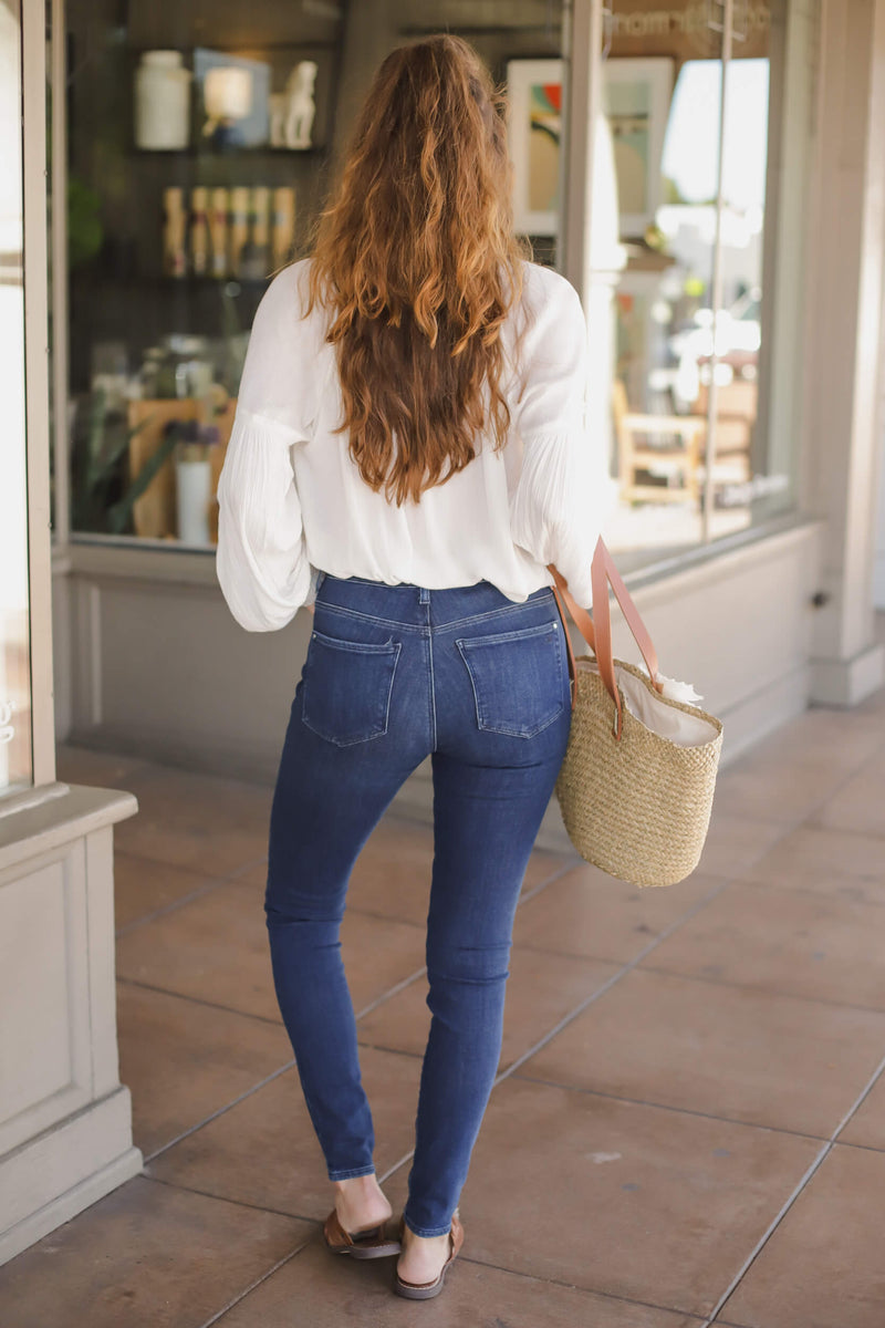 ankle denim
