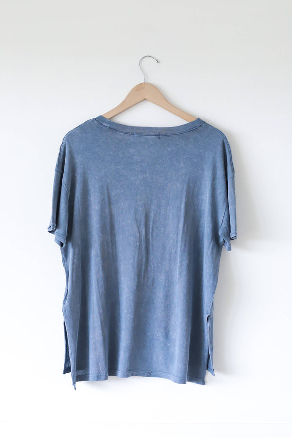 Azalea Tee Free People Navy