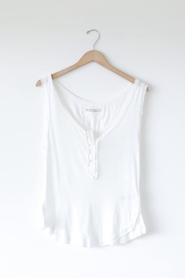 Free People Vacay Tank White