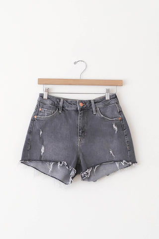 Distress denim shorts by Mavi