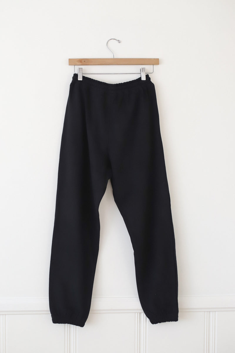 just chill black sweat pants