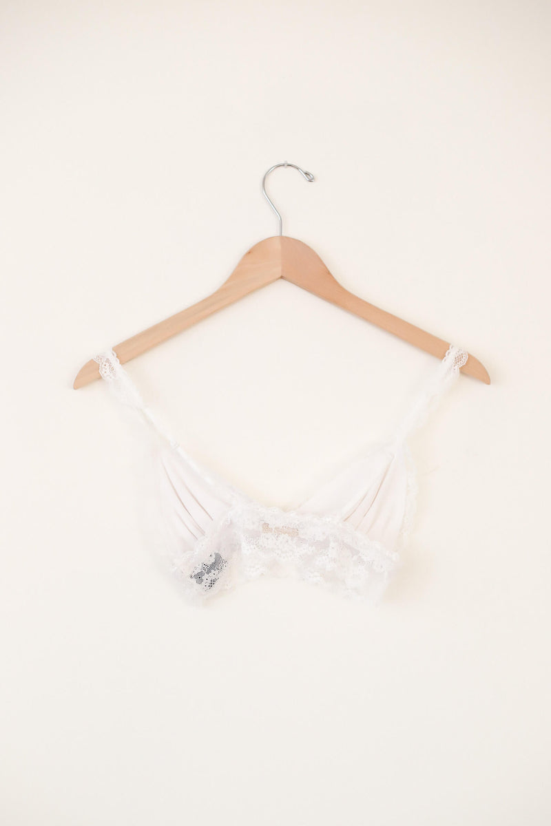 sweet dreams white bralette