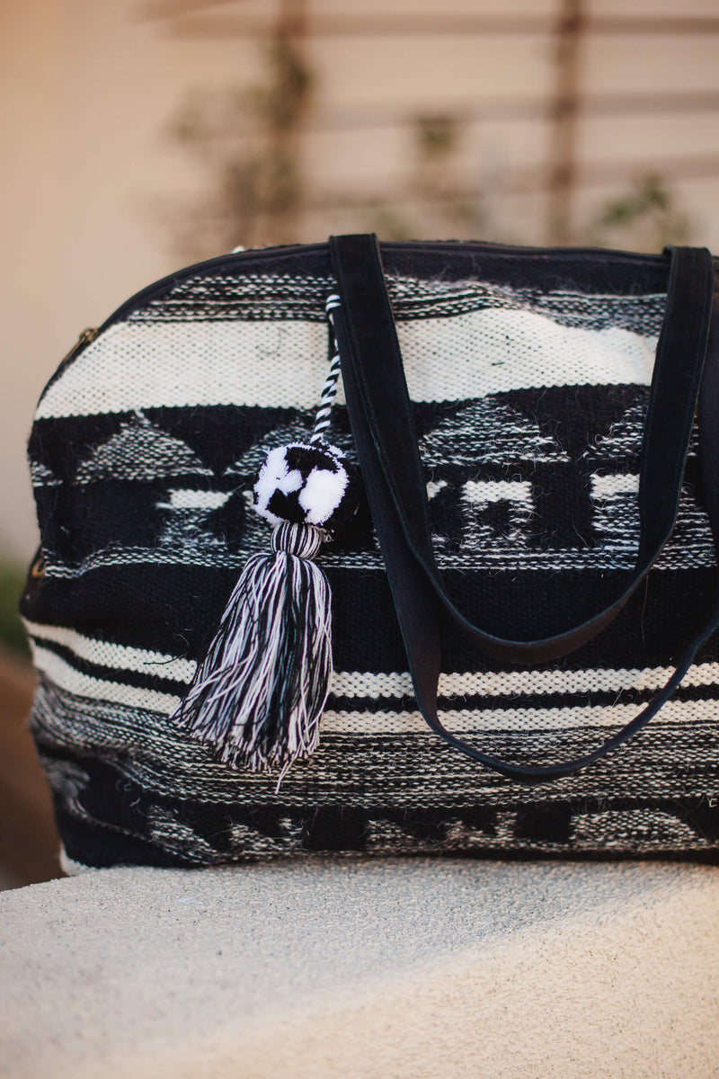 Loomed Over Night Bag