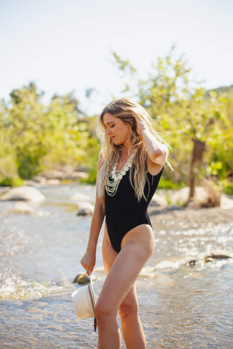 stretchy one piece