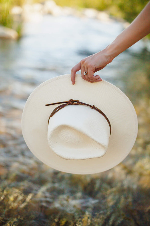 wyeth lindsey straw hat natural