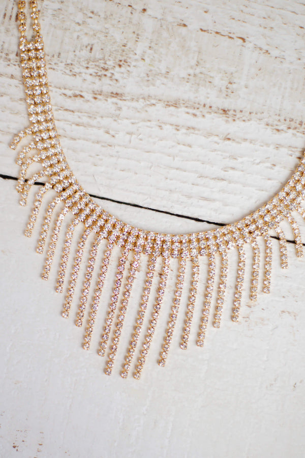 Gold Sparkle Choker