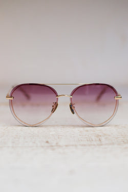 Lenox Sunglasses Diff Eyewear Rose Gold Sunglasses