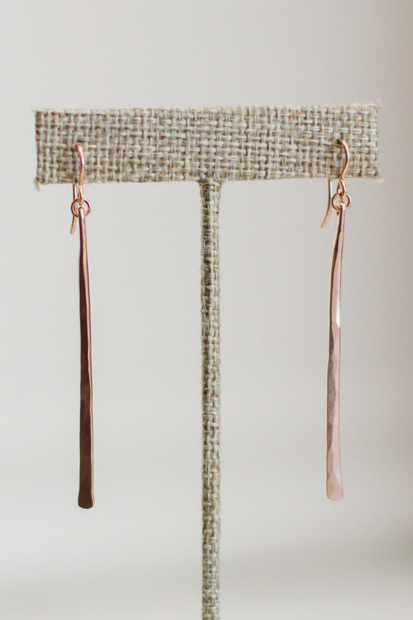 Gauge Stick Earrings