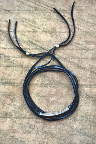 leather choker for women