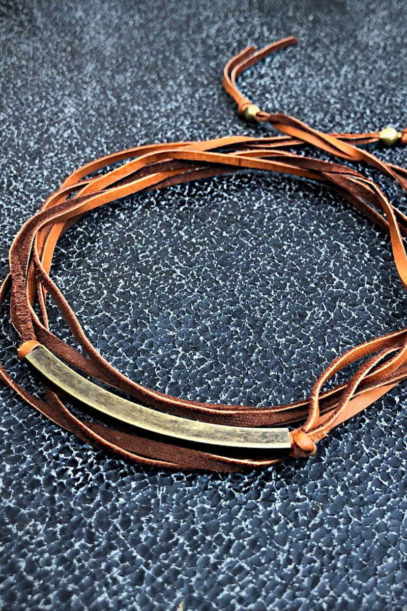 Roadhouse Leather Choker