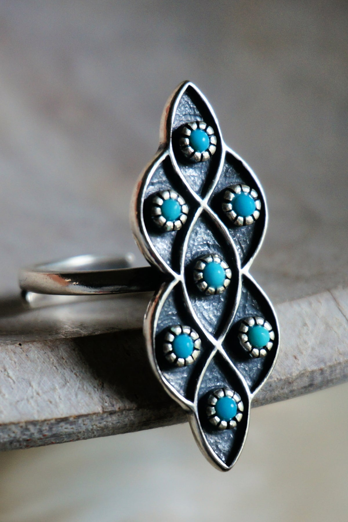 Sowell Jewelry Lucia Turquoise Ring