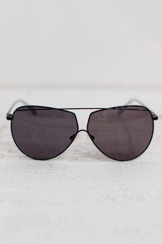 black wire aviators