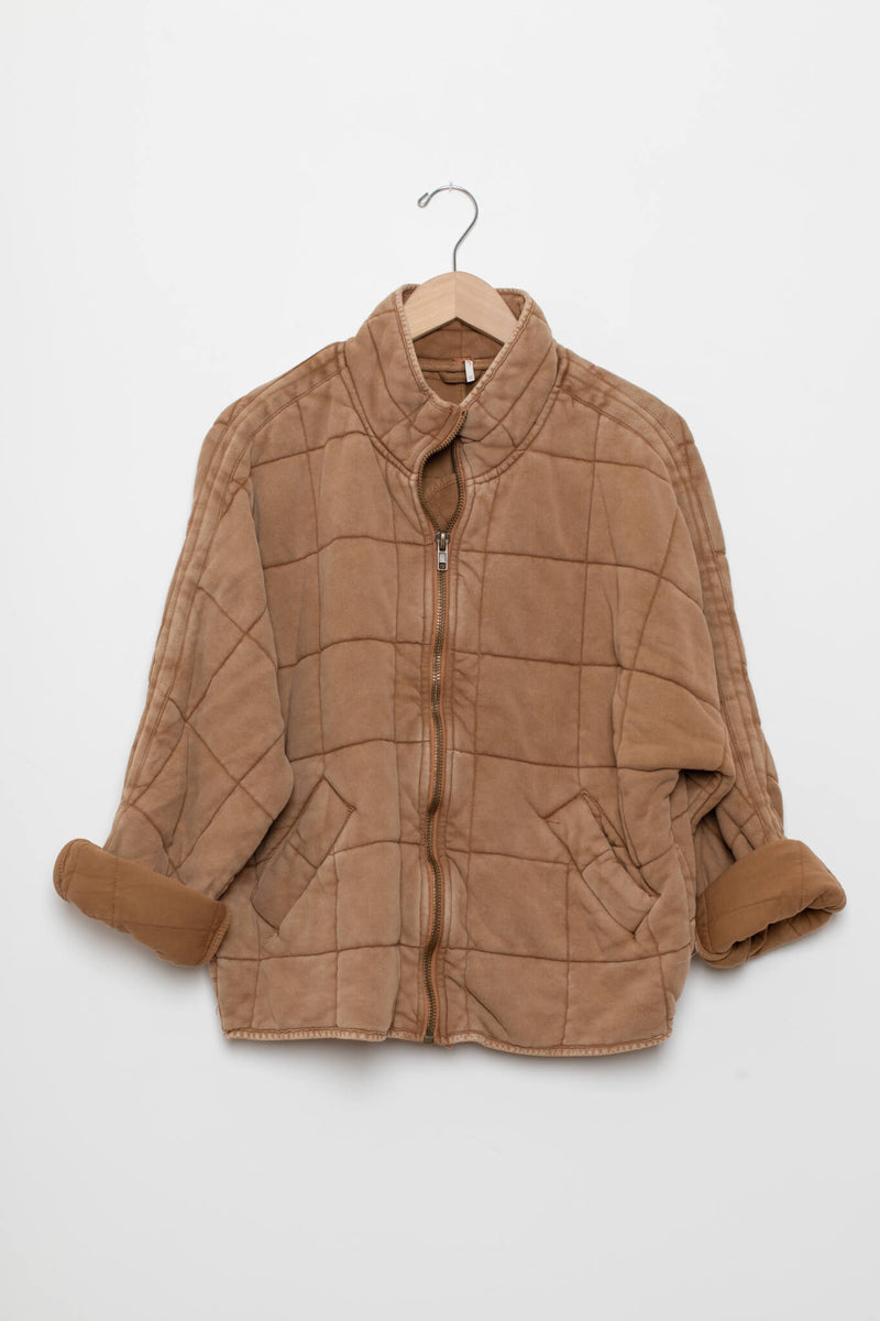 Dolman Quilted Jacket Free People