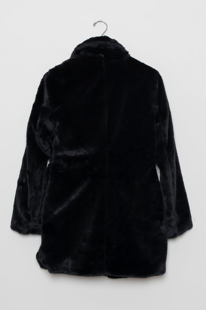 Soft Vegan Fur Coat
