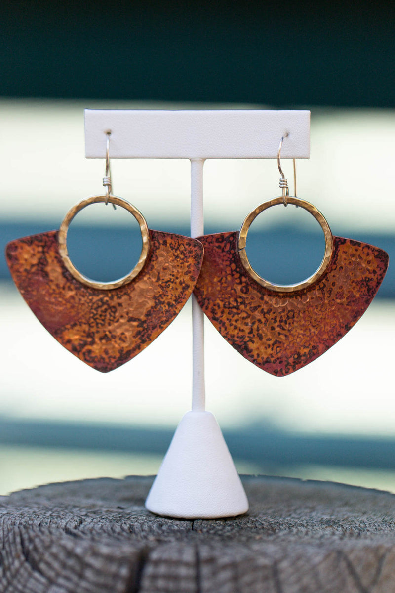 Raegan Hough Metalsmith Earrings