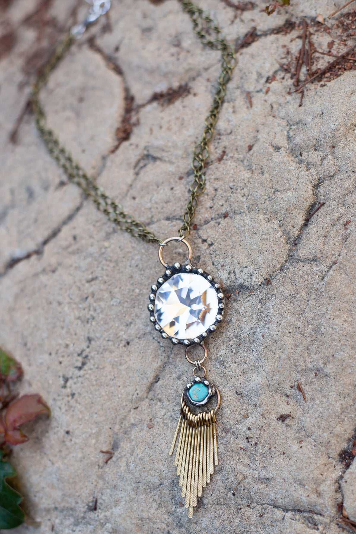 Crystal Turq Necklace