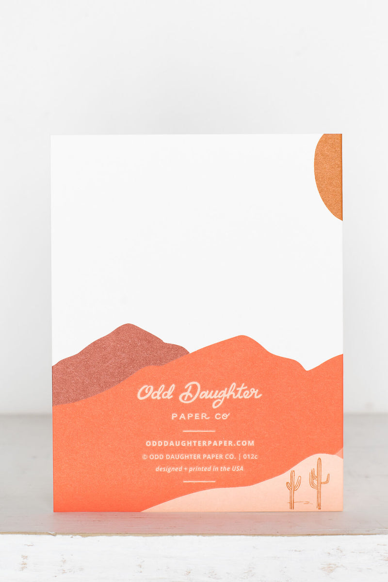odd daughter greeting cards