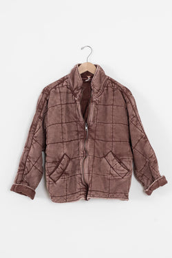 quilted free people jacket