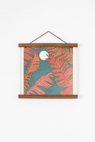 palm print wall art