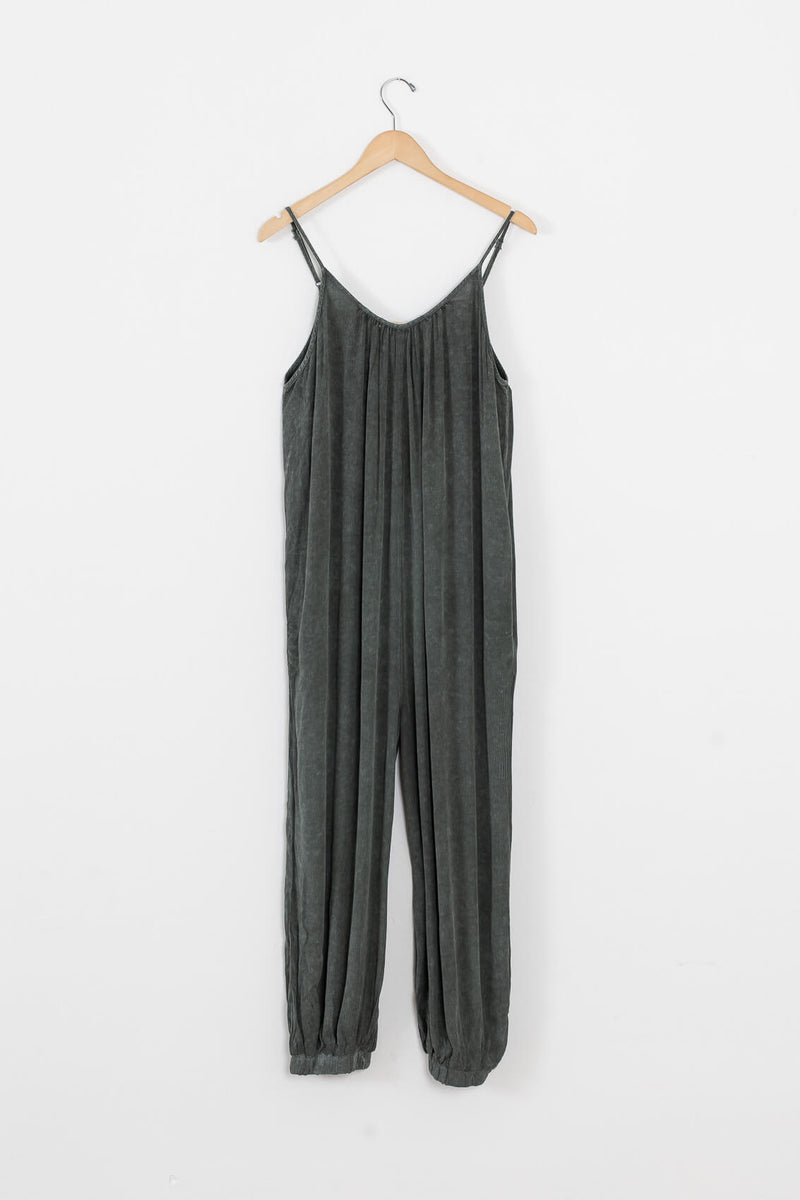 mineral wash jumpsuit