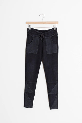 washed black free people leggings