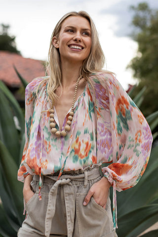 bohemian blouse for women