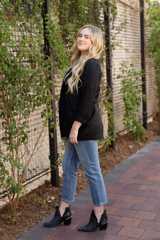 black blazer online boutique