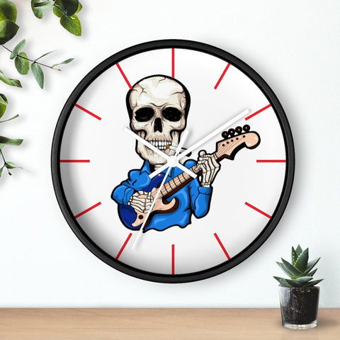 Lost Promises Raging Skull Wall clock