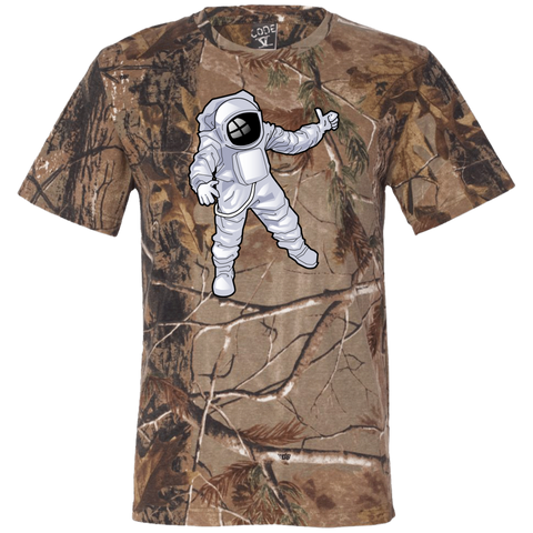 Camo Man Over The Moon Short Sleeve T-Shirt