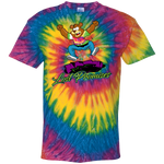 Lost Promises Dramatic Bear Cotton Tie Dye T-Shirt