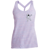 Man Over The Moon Ladies' Cosmic Twist Back Tank