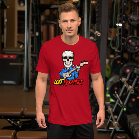 Assorted Raging Skeleton Short-Sleeve Unisex T-Shirt