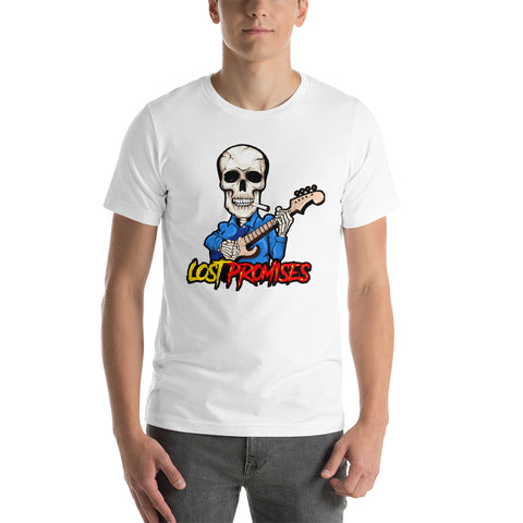 Raging Skeleton Short-Sleeve Unisex T-Shirt