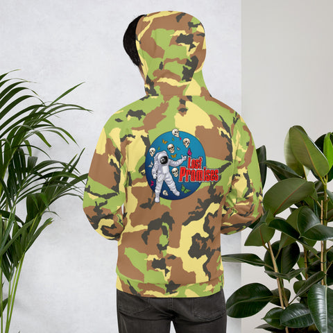Camo Man Over The Moon Unisex Hoodie