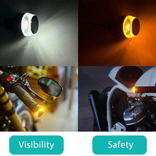 Load image into Gallery viewer, Motorcycle Handlebar LED Turn Signal Light