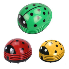Load image into Gallery viewer, Cute Portable Beetle Ladybug Desktop Vacuum Dust Cleaner